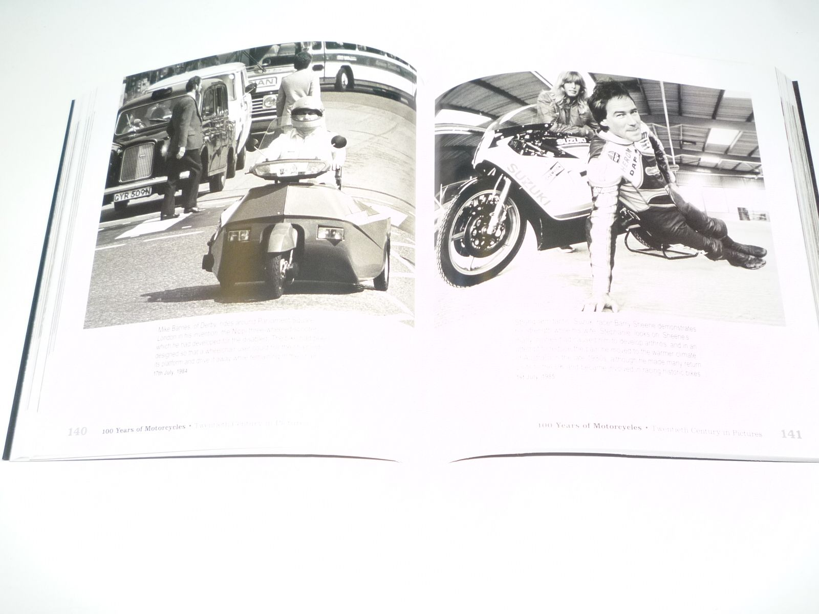 ... 100 Years of Motorcycles . Twentieth Century In Pictures (Pemberthy  2010) ...